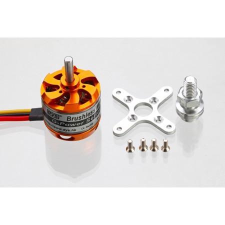 Электродвигатель DYS D3536 910KV   (авиамодельный)