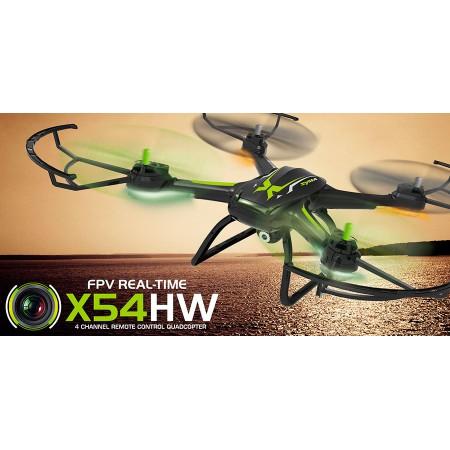 Квадрокоптер Syma X54HW Wi-Fi с видеокамерой