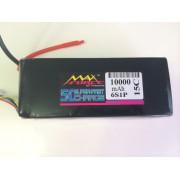 Maxforce 10000 6S 15C Lipo