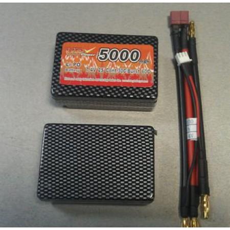 Аккумулятор Li-Po Vbpower 7.4V 5000mAh 2cell 30C