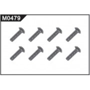 M0479 Cross Top Screw (M2.6*8mm head Ф5.6mm)