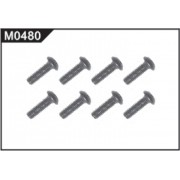 M0480 Cross Top Screw (M2.6*10mm head Ф5.6mm)