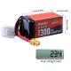 АккумуляторSunpadow 22.2V 6S Lipo 1300mAh 120C