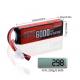 Аккумулятор Li-Po  6000mAh 2cell 70C 7.4V XT-60