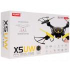 Квадрокоптер Syma с HD камерой X5UW black