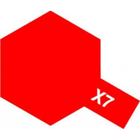 81507 Tamiya Х-7 Red (Красная)