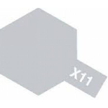 81511 Tamiya Х-11 Chrome Silver (Хромир. серебро)