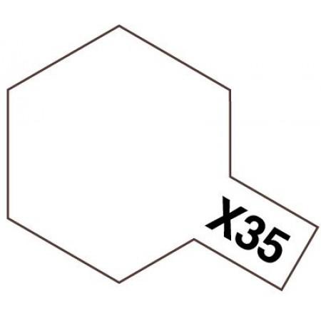 81535 Tamiya X-35 Semi Gloss Clear (Полуматовый лак)