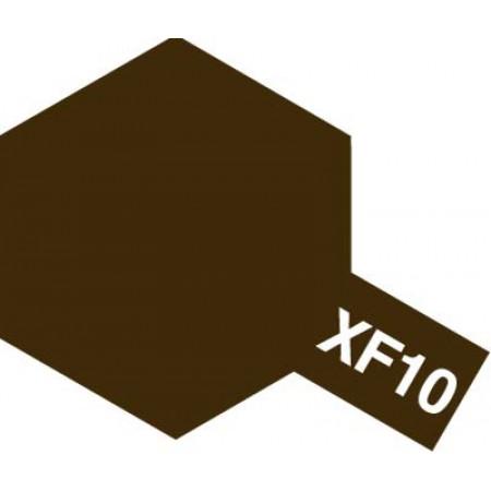 81710 Tamiya XF-10 Flat Brown (Коричневая матовая)