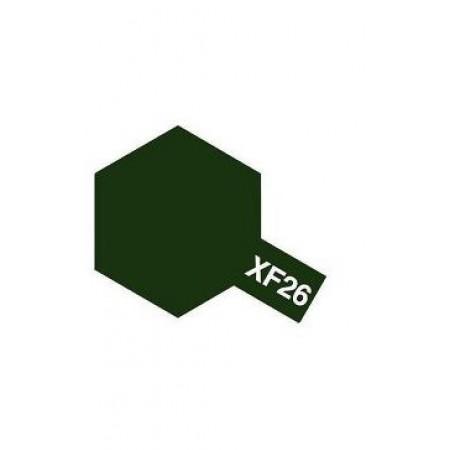 81726 Tamiya XF-26 Deep Green (Насыщенная зеленая)