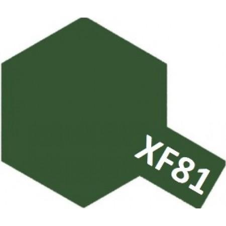 81781 Tamiya XF-81 Dark Green 2 Raf (Темно-зеленый 2 Raf)