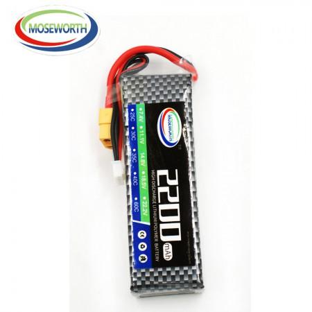 Аккумулятор Li-Po  11.1V 2200mAh 3cell 30C