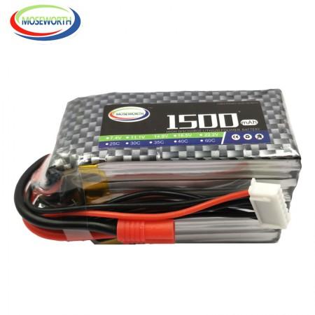 Аккумулятор Li-Po 14.8V 1500mAh 4cell 60C