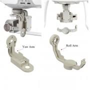 DJI Phantom 4 алюминиевый кронштейн Roll & Yaw для подвеса камеры