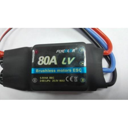 Регулятор оборотов электродвигателя FLY- 80A LV