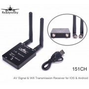 5.8Ghz 151CH Channel AV Signal Wifi Transmission Receiver for IOS & Android