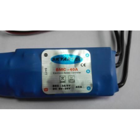 Регулятор для бесколлекторных двигателей  BMC-40А