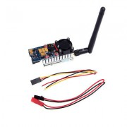 ПЕРЕДАТЧИК FPV TS582000 5.8G 2000MW 8CH Video AV Audio Sender