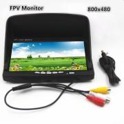 """7"""" FPV 800 х 480 HD TFT  с козырьком"""