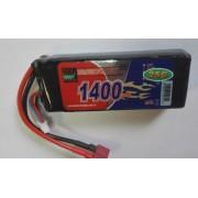 Аккумулятор Li-Po 11.1V (3S)/1400mAh/25С