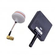 11dBi Panel Rotating + Mushroom 5.8G FPV Antenna RP-SMA