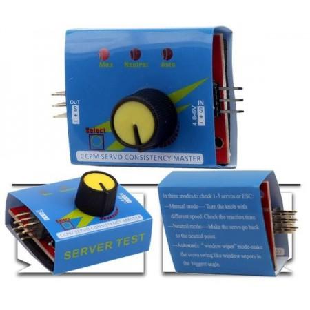Мульти тестер сервоприводов и регуляторов хода 3кан