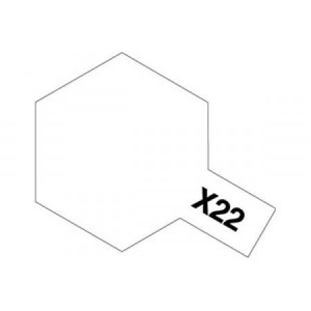 81522 Tamiya Х-22 Clear (Прозрачная)