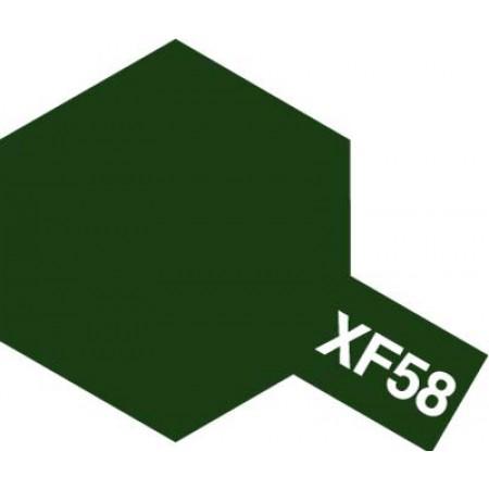 81758 Tamiya XF-58 Olive Green (Оливково-зеленая)