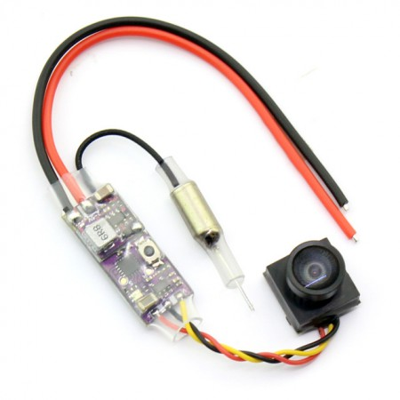 MINI V2 VTX+CAMERA 25mw 16ch Transmitter 800tvl Camera